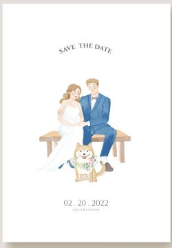 invitaciones boda con mascotas - muy de celebrar